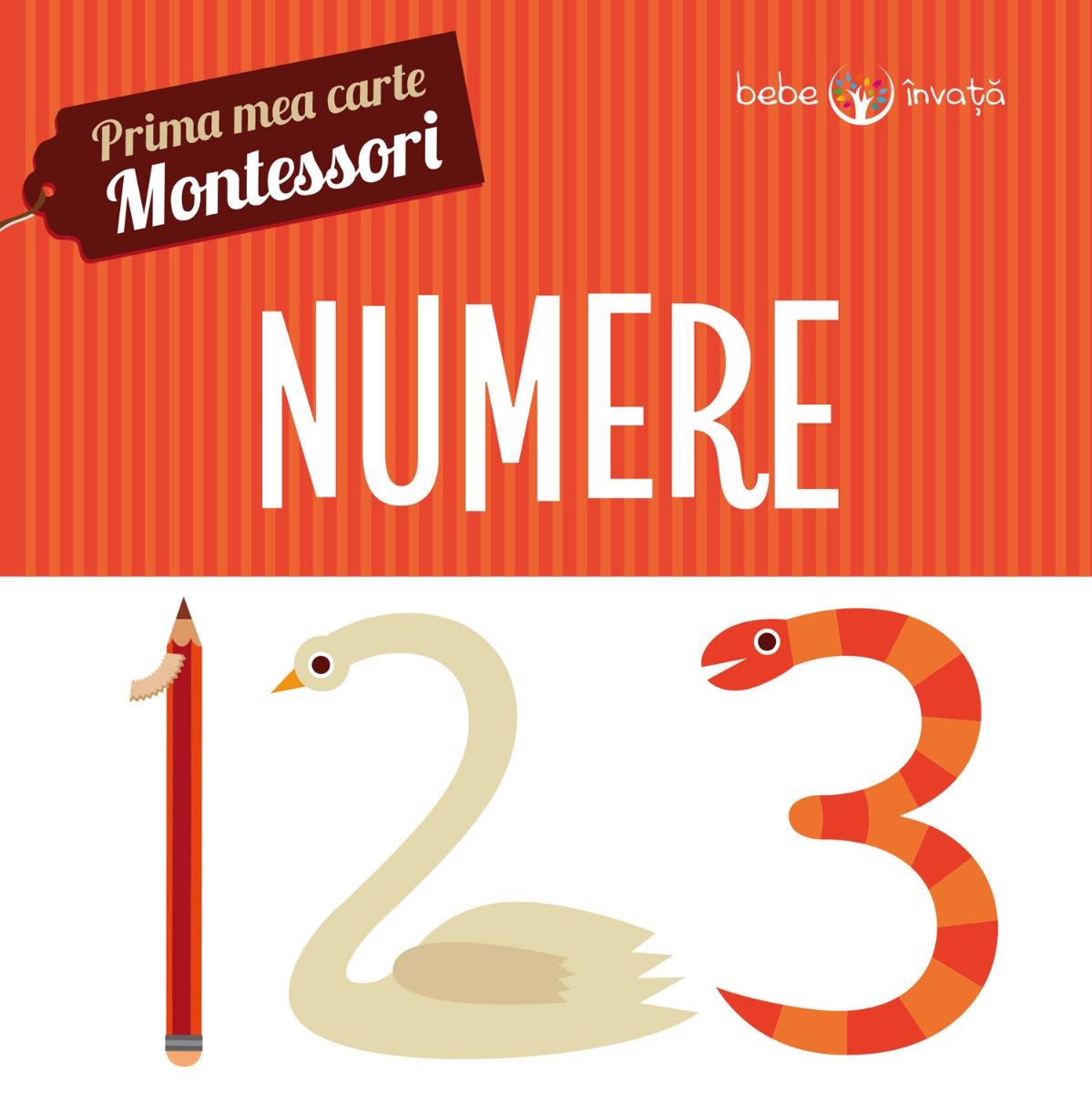 Prima mea carte Montessori - Numere
