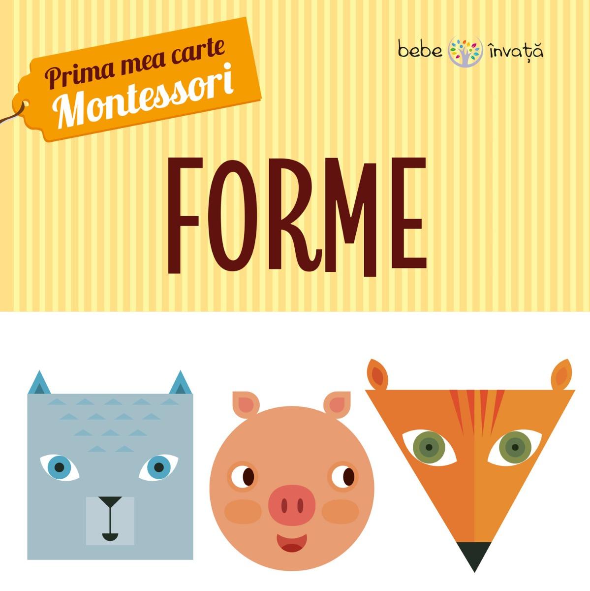 Prima mea carte Montessori - Forme