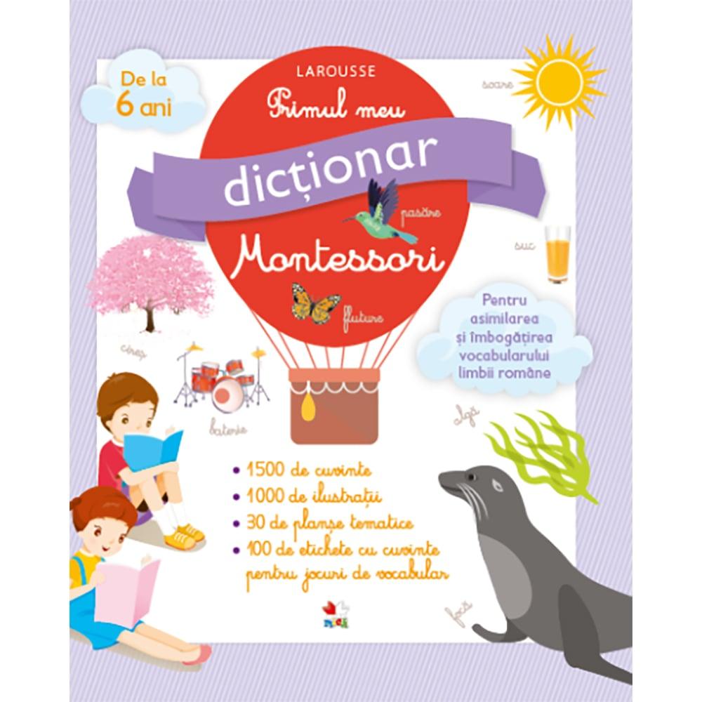 Carte Editura Litera, Primul meu dictionar Montessori