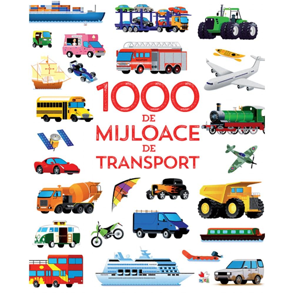 Carte Editura Litera, 1000 de mijloace de transport
