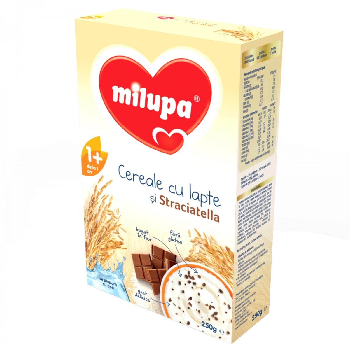 Cereale Milupa cu Stracciatella 250g