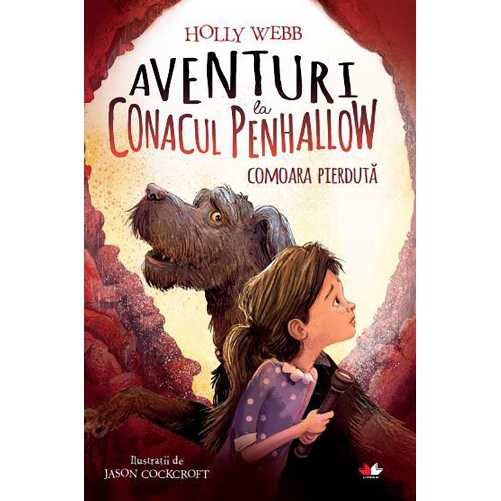 Carte Editura Litera, Aventuri la conacul Penhallow. Comoara pierduta, Holly Webb