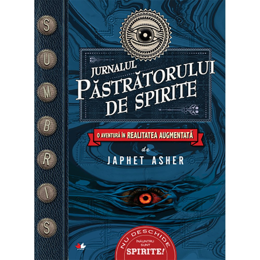 Carte Editura Litera, Jurnalul pastratorului de spirite, Japhet Asher