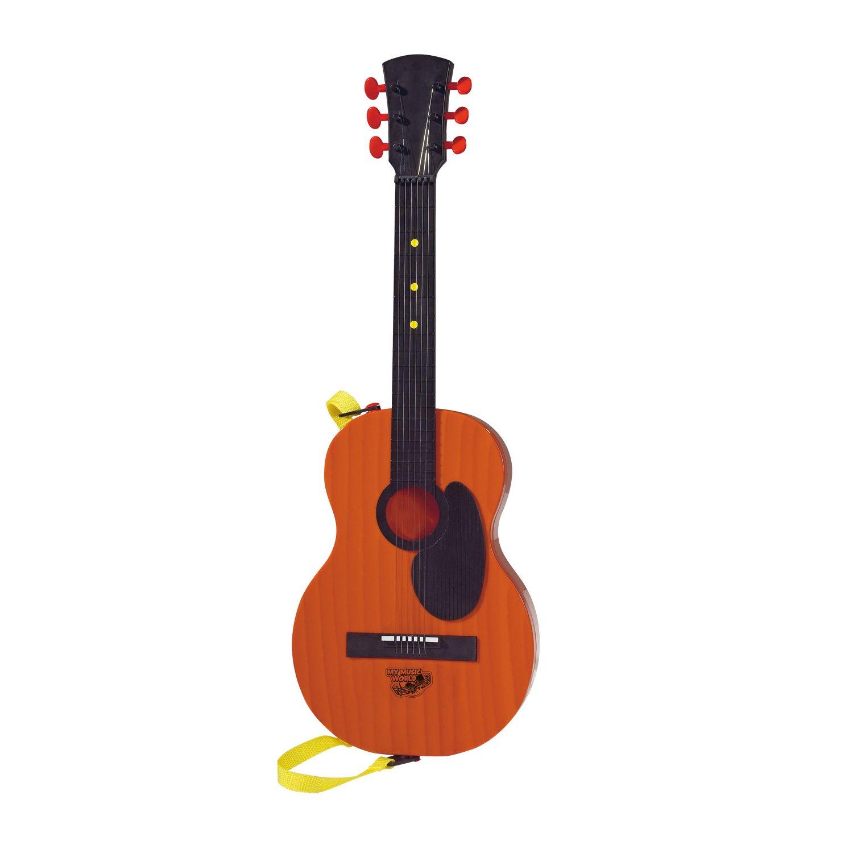 Chitara rock country cu functii audio Simba, 54 cm, maro
