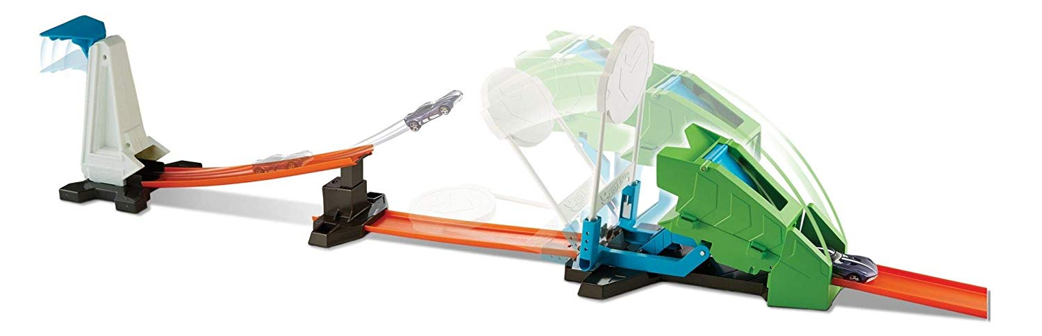 Circuit Hot Wheels Track Builder Hammer Drop Challenge, FLL01