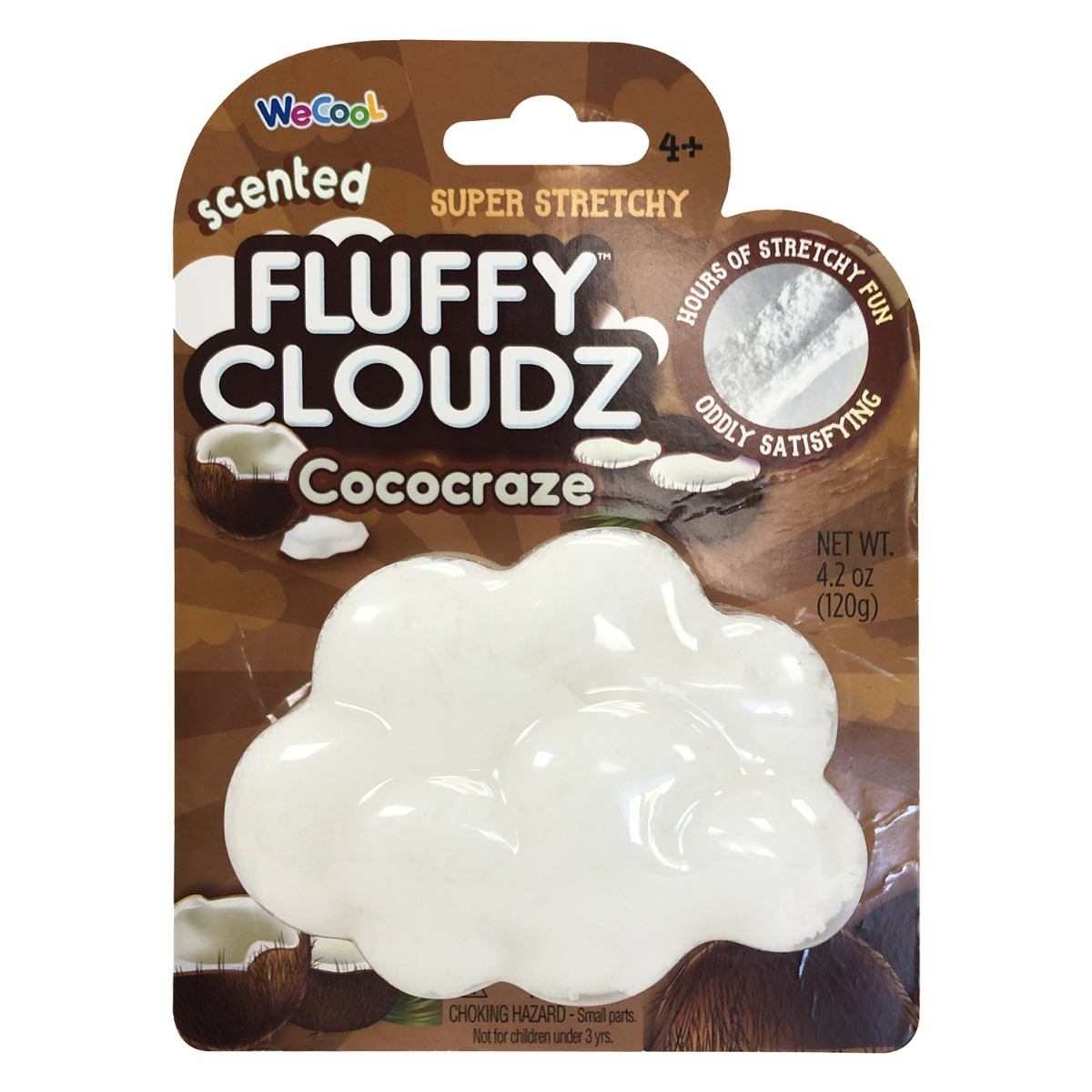 Slime parfumat cu surpriza Compound Kings - Fluffy Cloudz, Cococraze, 120 g