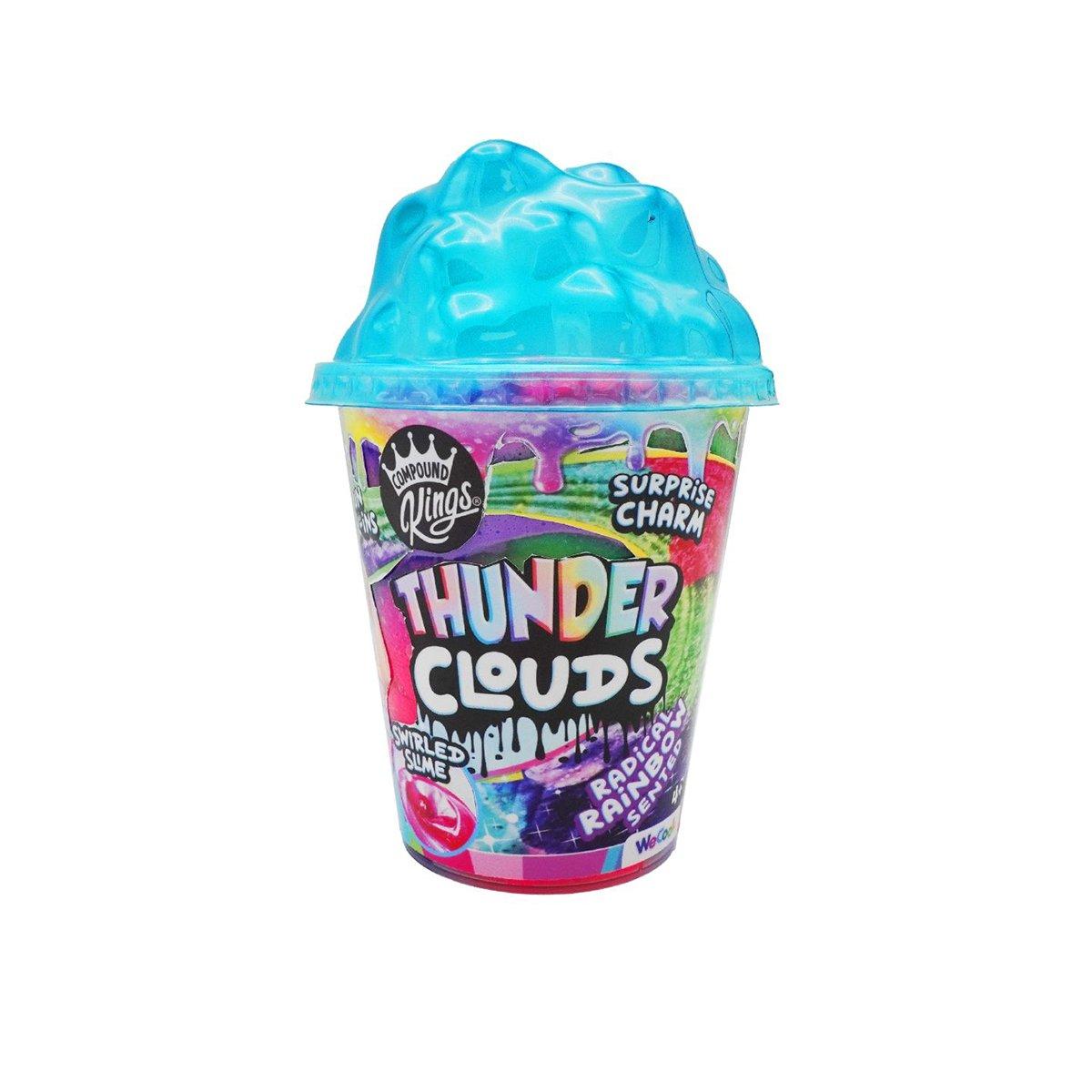 Slime, Compound Kings, Thunder Cloudz, Blue, 301013-1