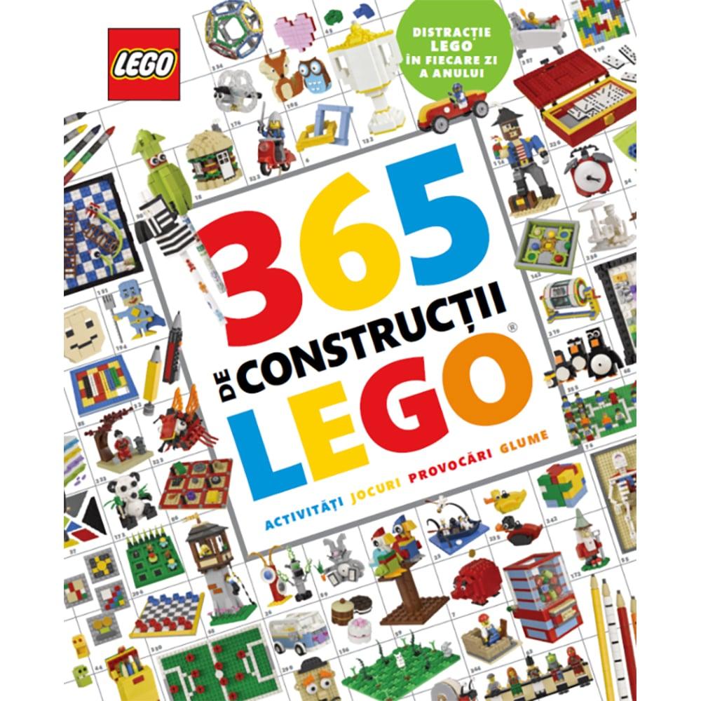Carte Editura Litera, Lego. 365 de constructii Lego