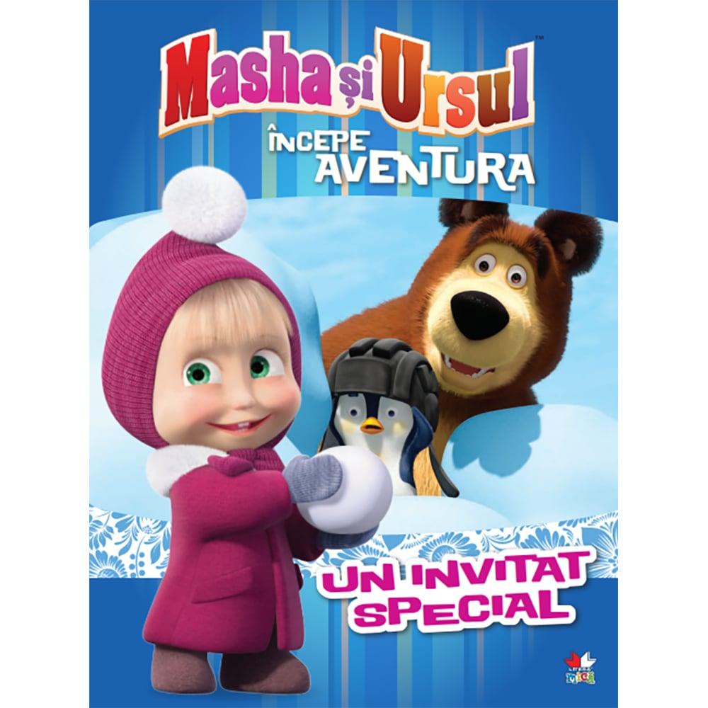 Carte Editura Litera, Masha si Ursul. Incepe aventura. Un invitat special