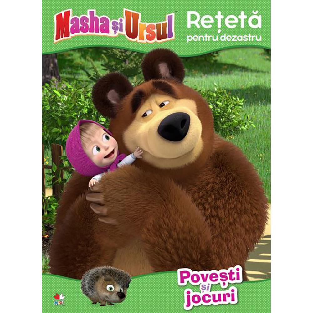 Carte Editura Litera, Masha si Ursul. Reteta pentru dezastru. Povesti si jocuri