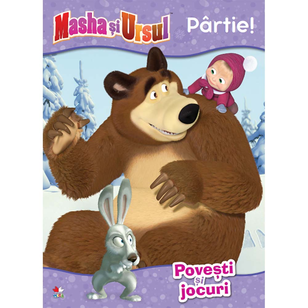 Carte Editura Litera, Masha si Ursul. Partie! Povesti si jocuri