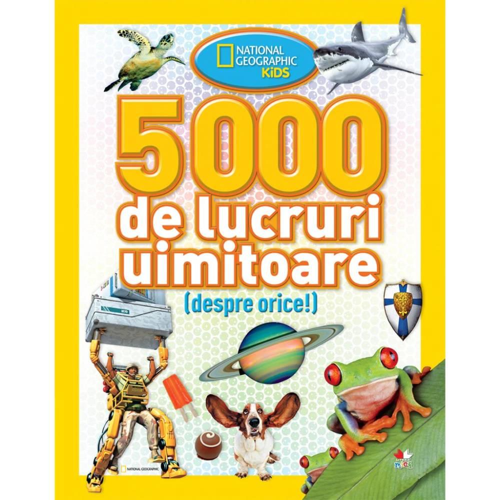 Carte Editura Litera, 5000 de lucruri uimitoare