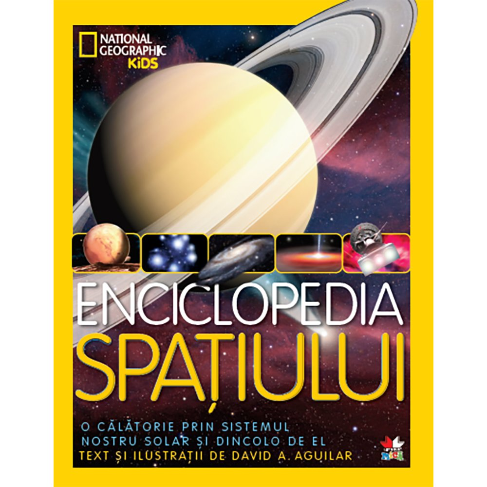 Carte Editura Litera, Enciclopedia spatiului. National Geographic