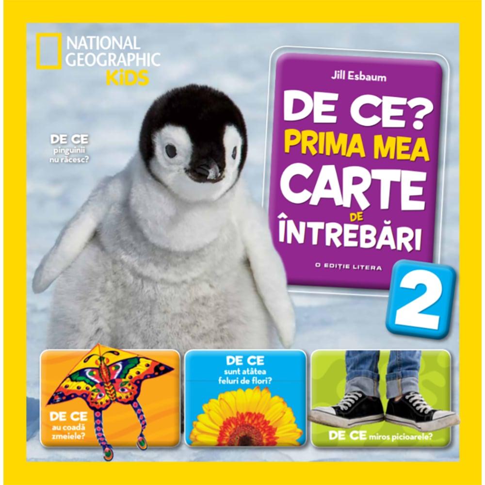 Carte Editura Litera, De ce? Prima mea carte de intrebari, Vol.2