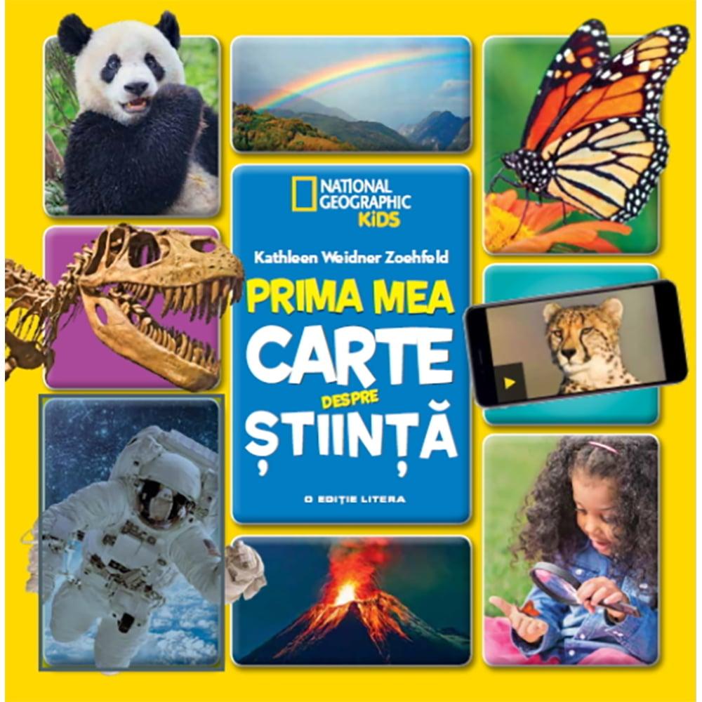 Carte Editura Litera, Prima mea carte despre stiinta