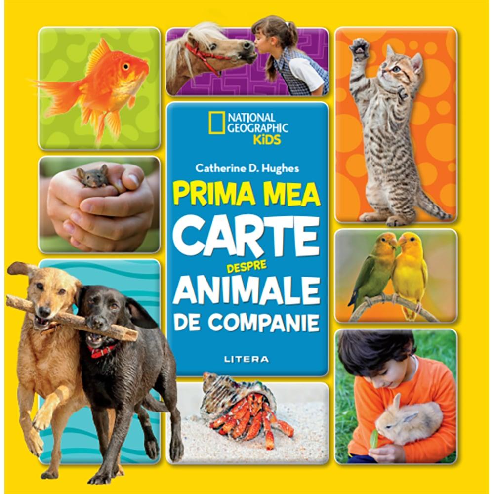 Carte Editura Litera, Prima mea carte despre animale de companie