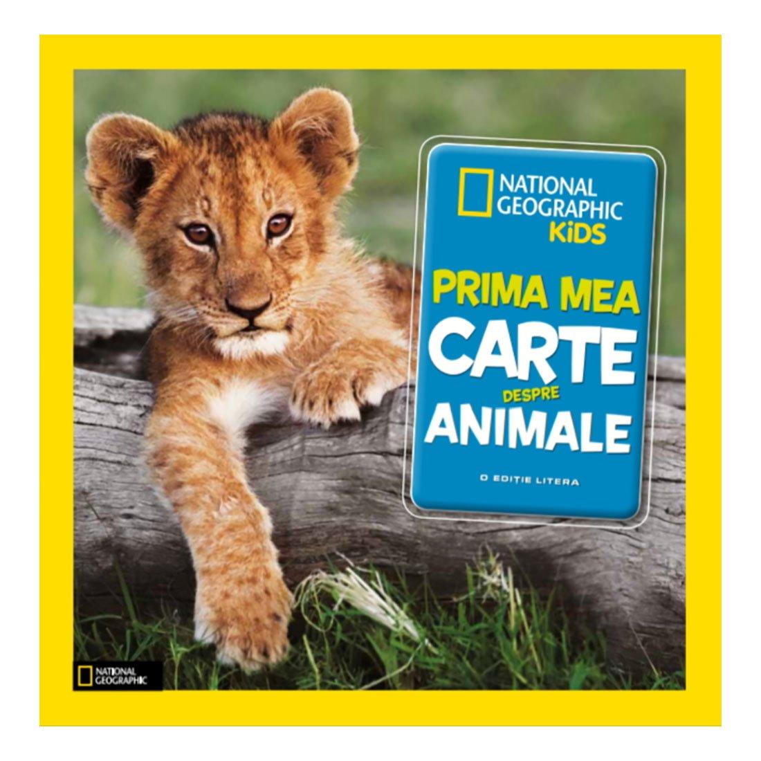 Carte Editura Litera, Prima mea carte despre animale
