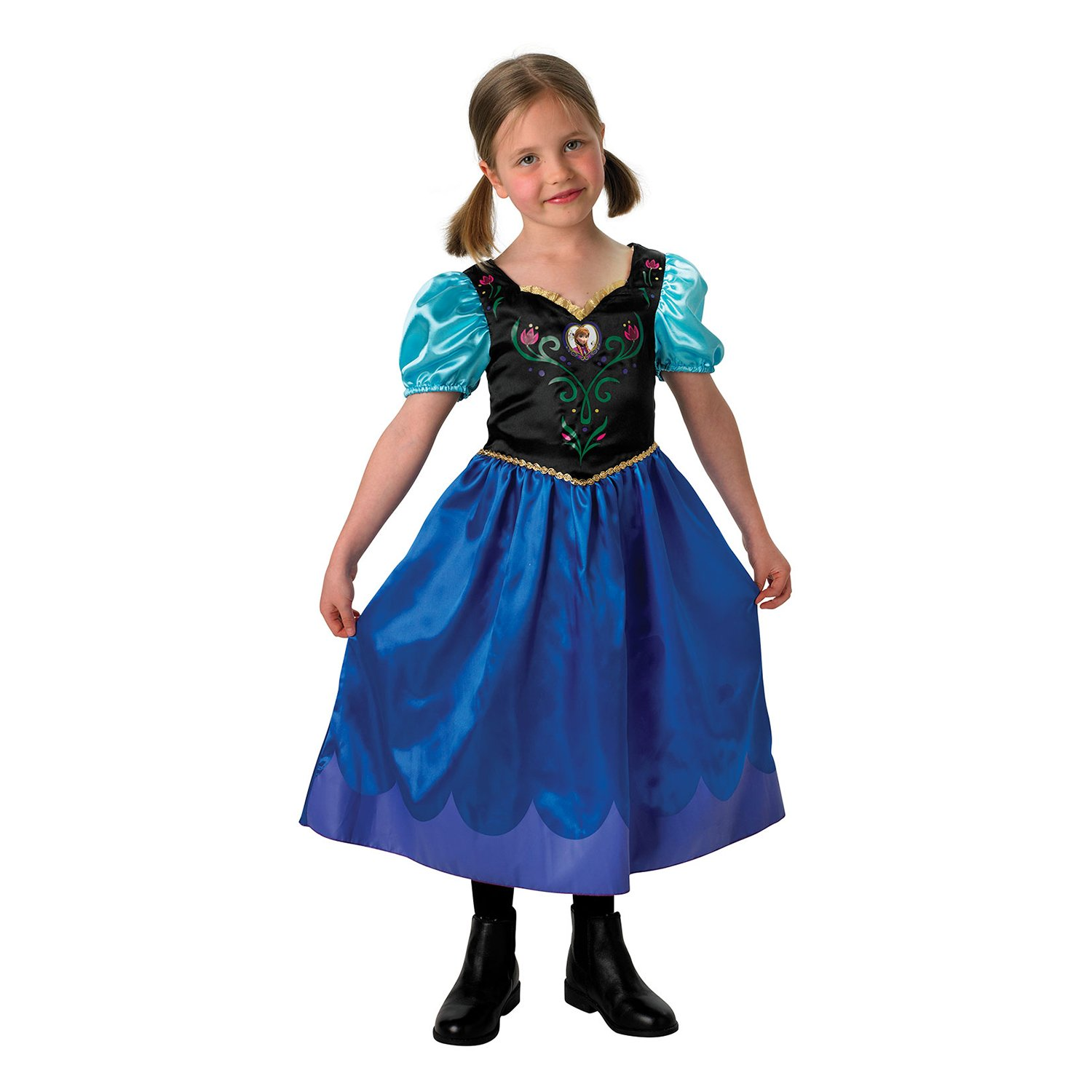 costum disney frozen anna, 5-6 ani