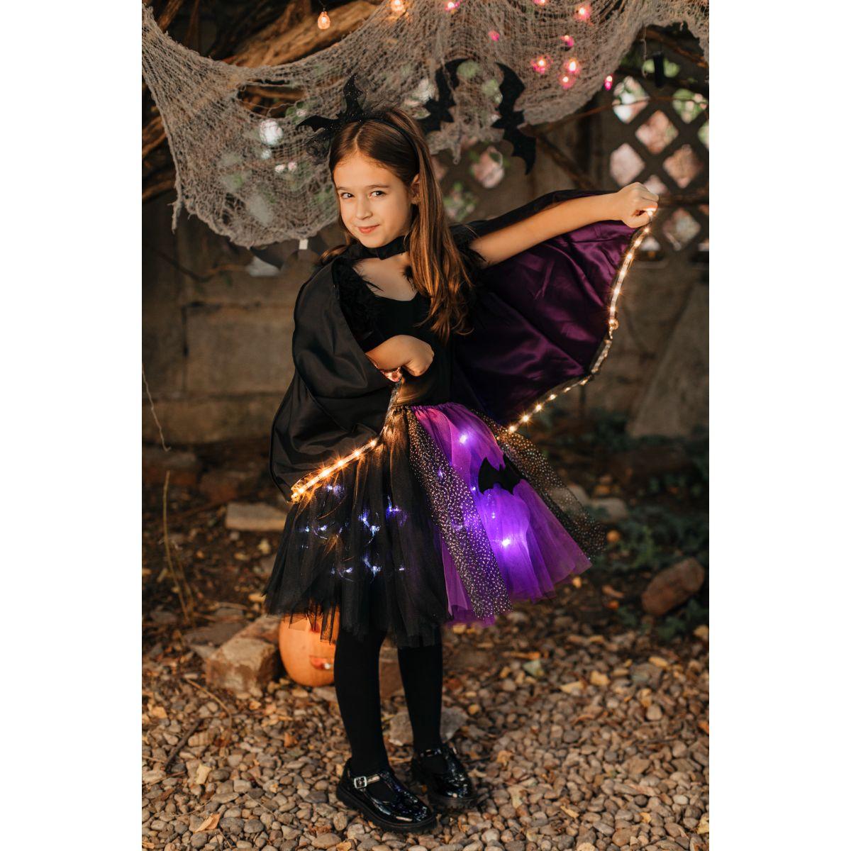 Costum de Halloween, Fustite cu Luminite, cu bratara handmade