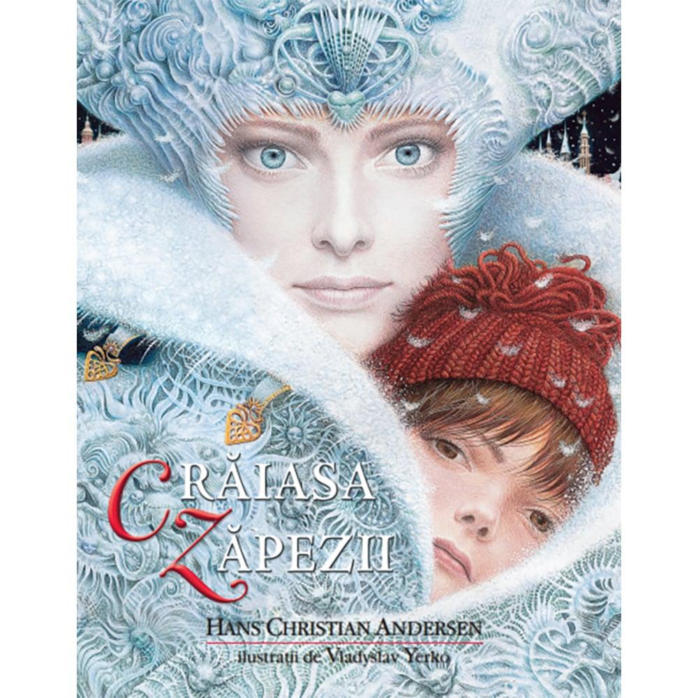 Carte Editura Litera, Craiasa Zapezii, Hans Christian Andersen