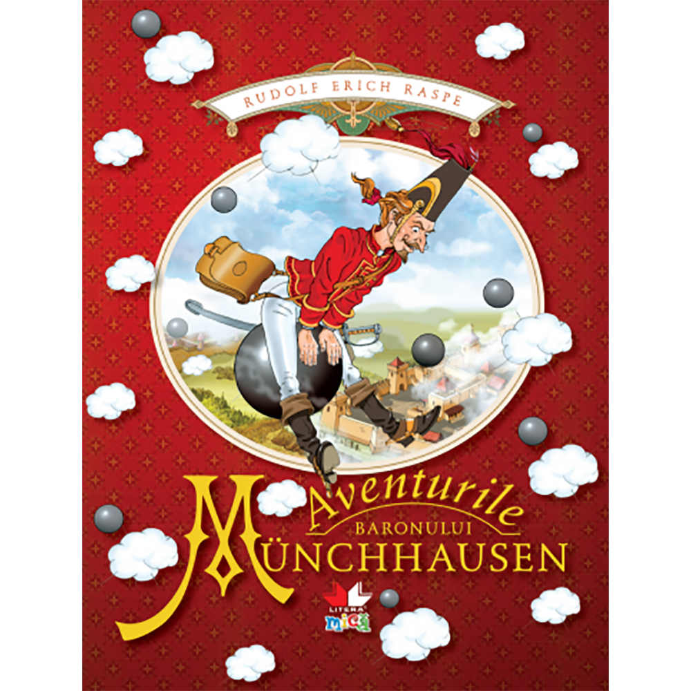 Carte Editura Litera, Aventurile baronului Munchhausen
