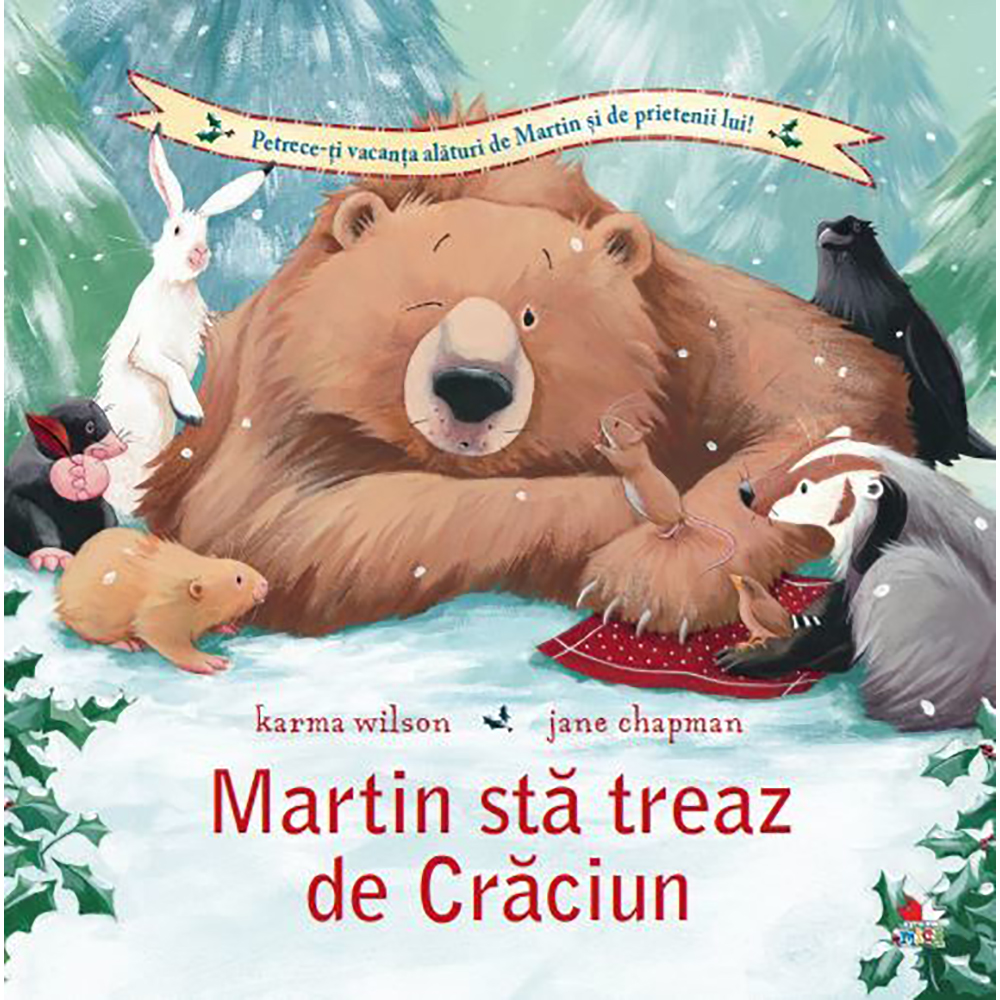 Carte Editura Litera, Martin sta treaz de Craciun, Karma Wilson