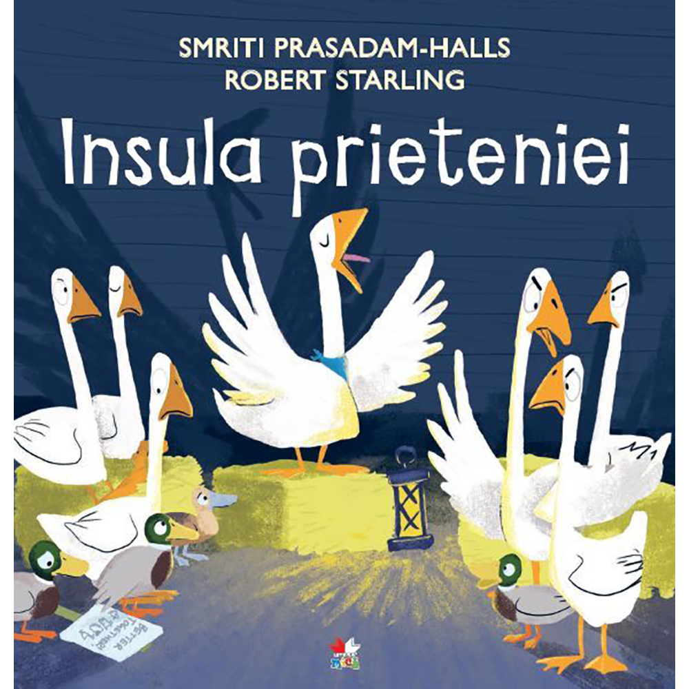 Carte Editura Litera, Insula prieteniei, Smriti Prasadam-Halls