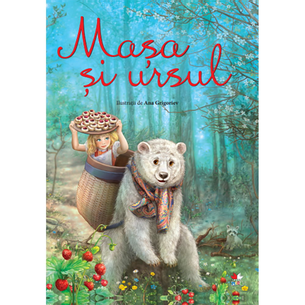 Carte Editura Litera, Masha si Ursul. Ilustratii de Ana Grigoriev