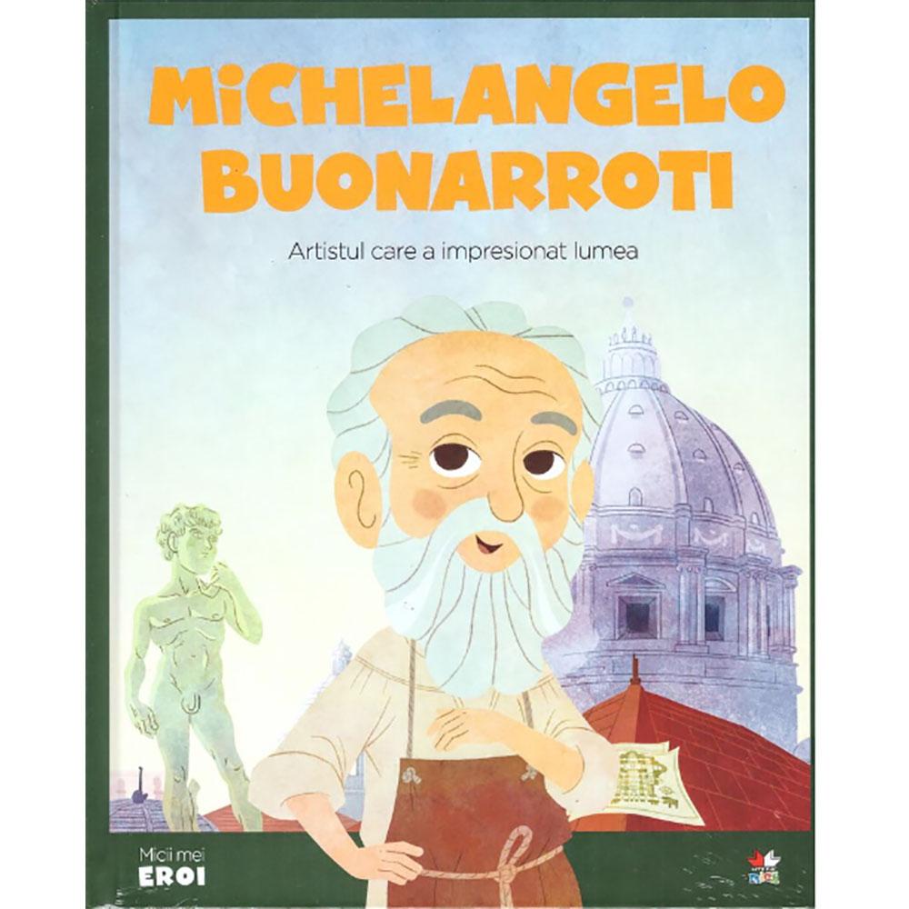Carte Editura Litera, Micii Eroi, Michelangelo