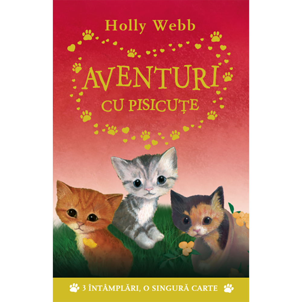 Carte Editura Litera, Aventuri cu pisicute, Holly Webb