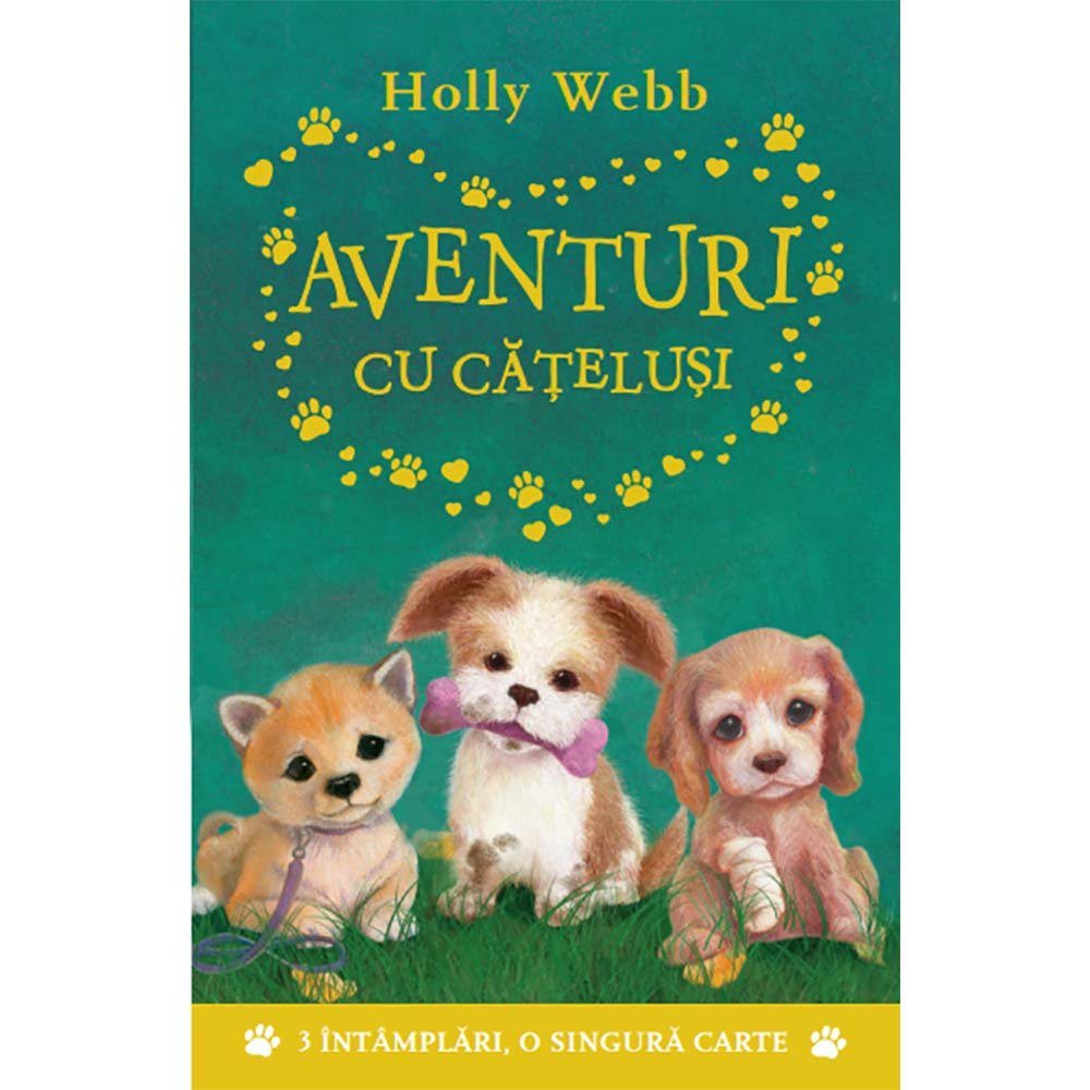 Carte Editura Litera, Aventuri cu catelusi, Holly Webb