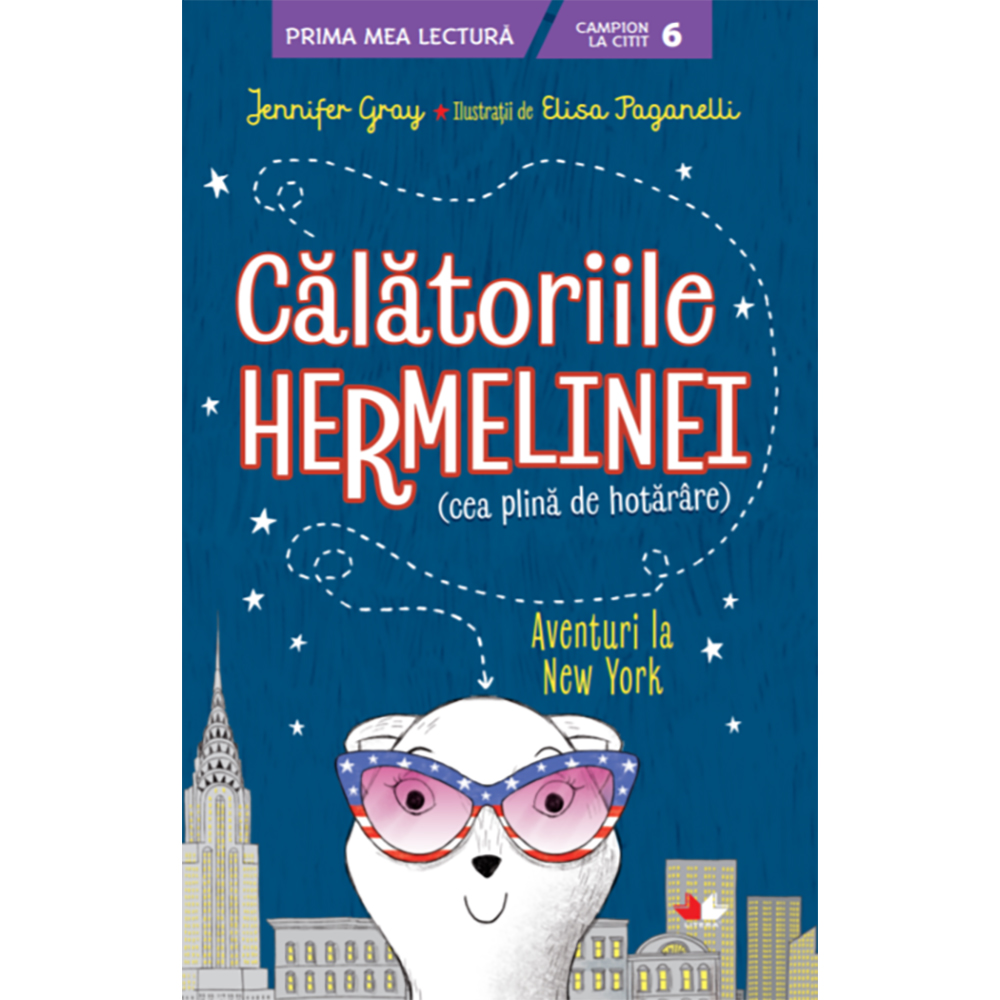 Carte Editura Litera, Calatoriile hermelinei. Aventuri la New York, Jennifer Gray
