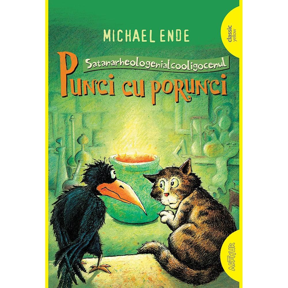 Carte Editura Arthur, Punci cu porunci (Necartonat), Michael Ende imagine