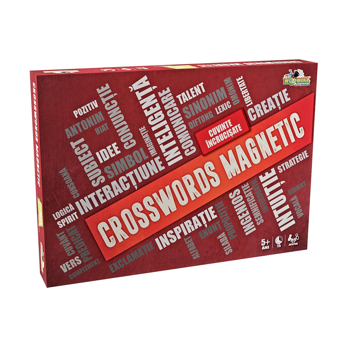 Joc de societate Noriel Crosswords magnetic