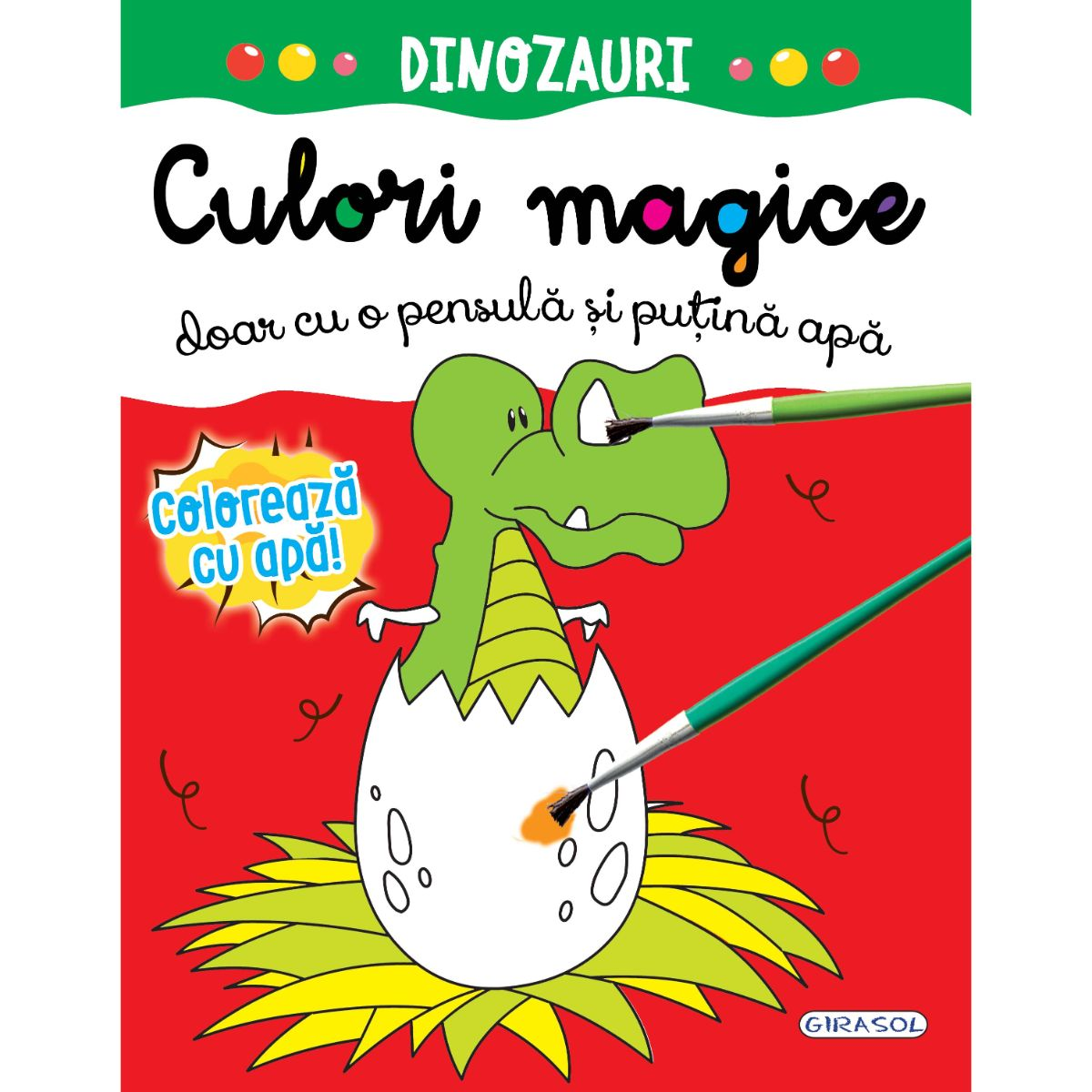 Culori magice - Dinozauri