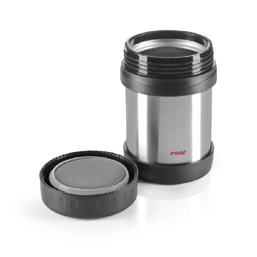 Cutie termica pentru mancare din otel inoxidabil Reer, 350 ml
