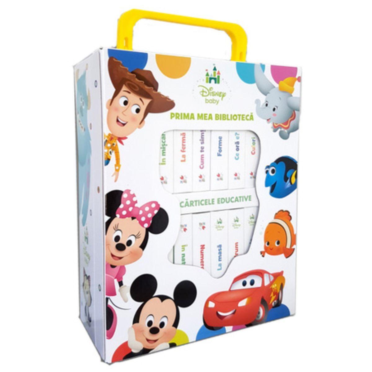 Disney Baby - Prima mea biblioteca (12 carticele) reeditare