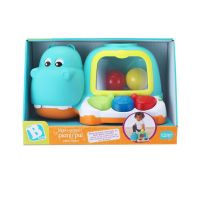 004641-00_001w Jucarie pentru bebelusi, B Kids, pian hipopotam