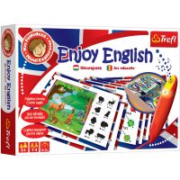 TF01638_001w Joc educativ Trefl, Micul explorator, Enjoy English cu creionul magic