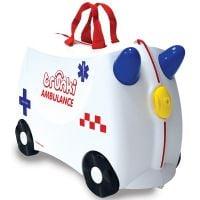0358-GB01_001 Valiza pentru copii Trunki Abbie Ride-On, Ambulanta