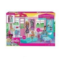 0887961690798 FXG54_001w Set casuta de papusi, Barbie, cu piscina
