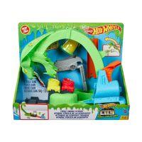 0887961920888 GTT93_001w Set de joaca, Hot Wheels, Toxic Snake, cu slime