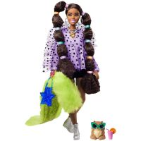 0887961954982  GXF10_001w Papusa Barbie, Extra Style, Pigtails With Bobble Hair Ties