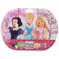 Set desen si accesorii Disney Princess Giga Block 5 in 1
