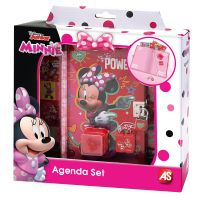 1027-06155_001w Set Agenda cu lacat Disney Minnie Mouse