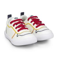 1046314 Pantofi Bibi Agility Mini Alb-Rosu