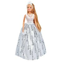 105733466_001w Papusa cu rochie de gala decorata cu cristale Steffi Love