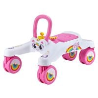 10601SQ1 Roz Masinuta fara pedale Tiny Town Ride On Slider, Roz
