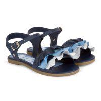 1068025 Sandale din piele Bibi Shoes Fresh Naval, Bleumarin 1068025