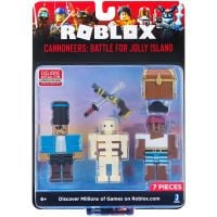 10725_026w Set 2 figurine Roblox, Cannoneers Battle For Jolly Island